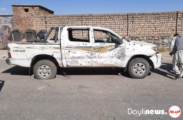 Explosion in Charikar; Three people were killed / The car carrying the deputy mayor of Parwan was targeted