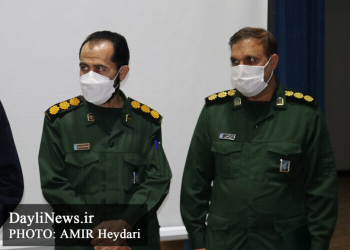 The farewell and introduction ceremony of the commander of MasjedSoleyman city corps was held