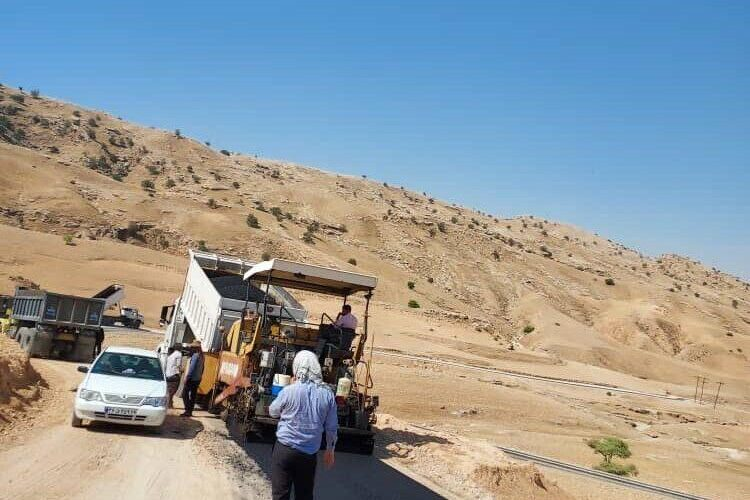 Masjed-e-Soliman-Izeh rural roads are being improved